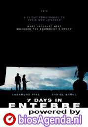 7 Days In Entebbe poster, © 2018 Entertainment One Benelux