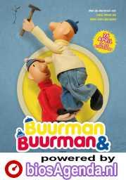 Buurman en Buurman bouwen een huis poster, copyright in handen van productiestudio en/of distributeur