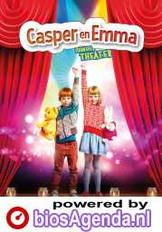 Casper & Emma maken theater (NL) poster, © 2018 Just Film Distribution