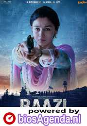 Raazi poster, copyright in handen van productiestudio en/of distributeur