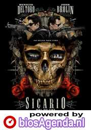 Sicario: Day of the Soldado poster, © 2018 Independent Films
