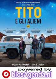 Little Tito and the Aliens poster, copyright in handen van productiestudio en/of distributeur