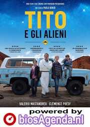 Little Tito and the Aliens poster, copyright in handen van productiestudio en/of distributeur