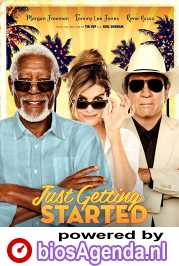 Just Getting Started poster, © 2017 Entertainment One Benelux
