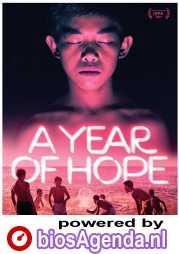 A Year of Hope poster, copyright in handen van productiestudio en/of distributeur