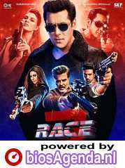 Race 3 poster, copyright in handen van productiestudio en/of distributeur