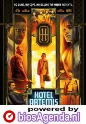 Hotel Artemis poster, © 2018 Dutch FilmWorks