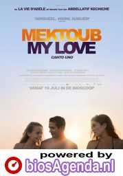 Mektoub, My Love: Canto Uno poster, © 2017 Cinéart