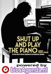 Shut Up and Play the Piano poster, copyright in handen van productiestudio en/of distributeur