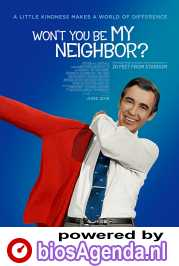 Won't You Be My Neighbor? poster, copyright in handen van productiestudio en/of distributeur