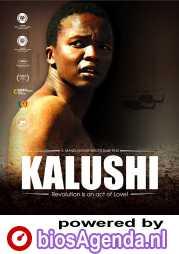 Kalushi: The Story of Solomon Mahlangu poster, copyright in handen van productiestudio en/of distributeur
