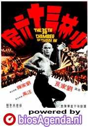 The 36th Chamber of Shaolin poster, copyright in handen van productiestudio en/of distributeur
