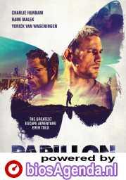 Papillon poster, copyright in handen van productiestudio en/of distributeur