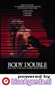 Body Double poster, copyright in handen van productiestudio en/of distributeur