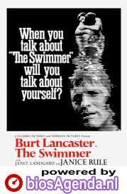 The Swimmer poster, copyright in handen van productiestudio en/of distributeur