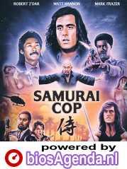 Samurai Cop poster, copyright in handen van productiestudio en/of distributeur