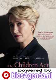 The Children Act poster, copyright in handen van productiestudio en/of distributeur