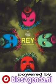 Rey poster, copyright in handen van productiestudio en/of distributeur