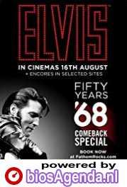 The 50th Anniversary of the Elvis Comeback Special poster, copyright in handen van productiestudio en/of distributeur