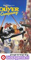 Oliver & Company poster, copyright in handen van productiestudio en/of distributeur