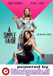 A Simple Favor poster, © 2018 Independent Films