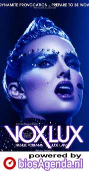 Vox Lux poster, © 2018 The Searchers