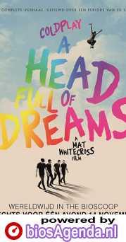 Coldplay: A Head Full of Dreams poster, copyright in handen van productiestudio en/of distributeur