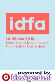 IDFA 2018 poster, copyright in handen van productiestudio en/of distributeur