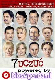 7 uczuc poster, copyright in handen van productiestudio en/of distributeur