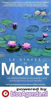 Water Lilies of Monet - The magic of water and light poster, copyright in handen van productiestudio en/of distributeur