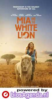 Mia and the White Lion poster, © 2018 In the air