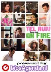 Tel Aviv on Fire poster, © 2018 MOOOV Film Distribution