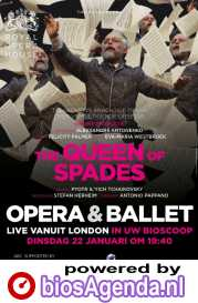 The Royal Opera: The Queen of Spades poster, copyright in handen van productiestudio en/of distributeur