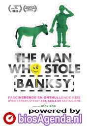The Man Who Stole Banksy poster, © 2018 Arti Film
