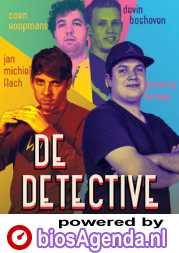 De Detective poster, copyright in handen van productiestudio en/of distributeur
