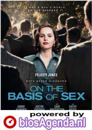 On the Basis of Sex poster, © 2018 Entertainment One Benelux