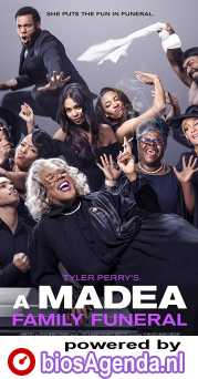 A Madea Family Funeral poster, copyright in handen van productiestudio en/of distributeur