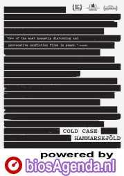 Cold Case Hammarskjöld poster, © 2019 Cinema Delicatessen