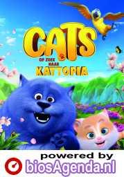 Cats: op zoek naar Kattopia (NL) poster, © 2018 Just Film Distribution