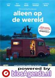Alleen Op De Wereld poster, copyright in handen van productiestudio en/of distributeur