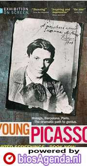 Young Picasso poster, copyright in handen van productiestudio en/of distributeur