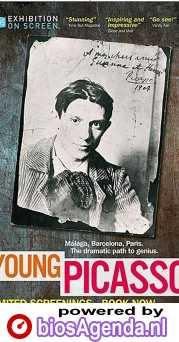 Young Picasso poster, copyright in handen van productiestudio en/of distributeur