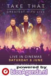 Take That: Greatest Hits Live poster, copyright in handen van productiestudio en/of distributeur