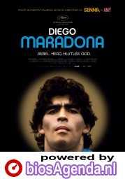 Diego Maradona poster, © 2019 Cinéart
