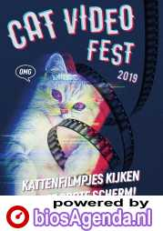 CatVideoFest 2019 poster, © 2019 Cinema Delicatessen