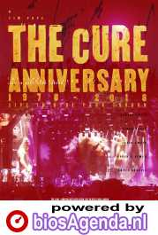 The Cure: Anniversary 1978-2018 Live in Hyde Park poster, copyright in handen van productiestudio en/of distributeur