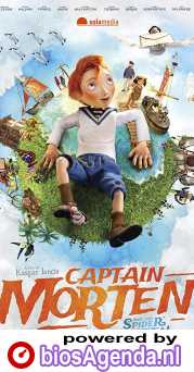 Kapitein Morten en de Spinnenkoningin poster, copyright in handen van productiestudio en/of distributeur