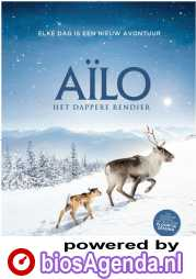 Ailo, Het Dappere Rendier (NL) poster, © 2018 In the air