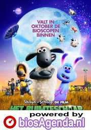 Shaun the Sheep Movie: Farmageddon poster, © 2019 WW entertainment