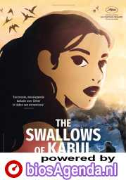 The Swallows of Kabul poster, © 2019 Imagine